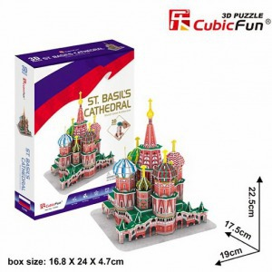 3D Puzzle St Basil's Cathedral
