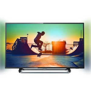 "Smart TV Philips 43PUS6262/12 43"" Ultra HD 4K LED Ultra Slim Wifi Fekete"