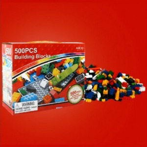 Lepin Blocks, 500 db