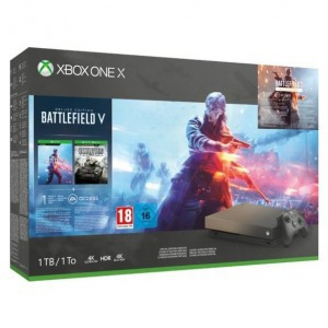Xbox One X 1tb Gold Rush Se + Battlefield V + Fifa19