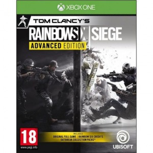 Xbox one tom clancy's rainbow six: siege advanced edition