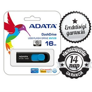 16GB ADATA UV 128 USB 3.0/2.0 PENDRIVE BLUE