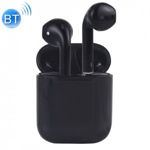 I7s fekete bluetooth headset