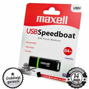 64GB Maxell Speedboat USB 3.1 Pendrive