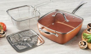 Royalty Line Copper pan 4 részes