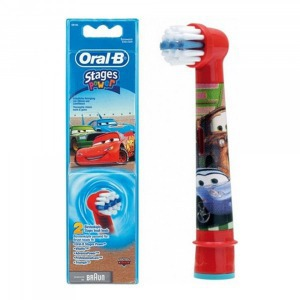 Oral-B EB10-2 Stages Power Kids gyerek elektromos fogkefefej szett