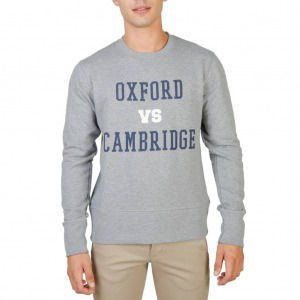 Oxford University OXFORD-FLEECE-CREWNECK férfi pulóver