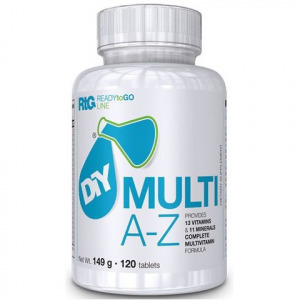 DIY Nutrition, RTG - multivitamin A-Z, 120 tabletta