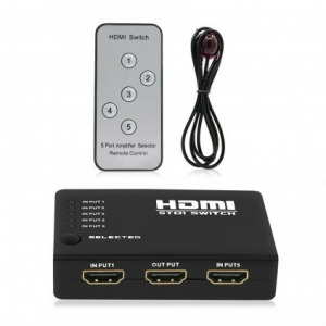5in1 HDMI Switch