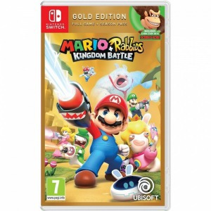 Switch mario + rabbids kingdom battle: gold edition