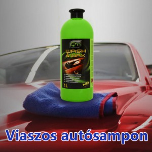2 db Wash - Wax - Viaszos sampon