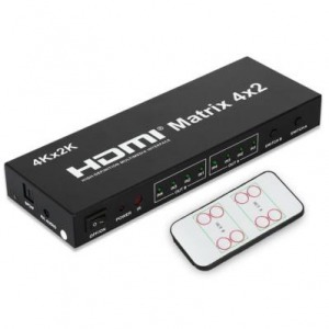 HDMI Matrix Switch elosztó - X-BOX, Blue Ray, DVD, HDTV, projektor