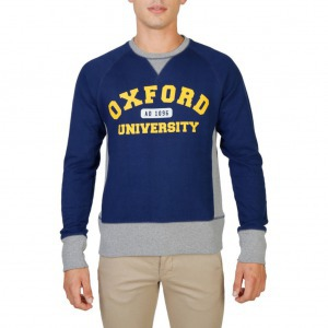 Oxford University OXFORD-FLEECE-RAGLAN férfi pulóver