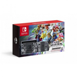 Nintendo Switch Konzol+Játék Super Smash Bros. Ultimate Edition